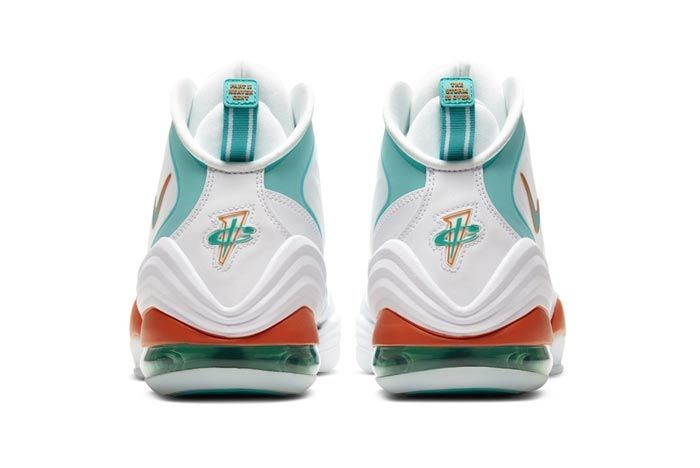 Nike Air Penny 5 Miami Dolphins Heels