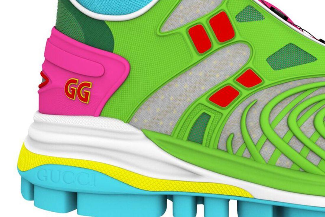 gucci virtual 25 nft sneaker on white