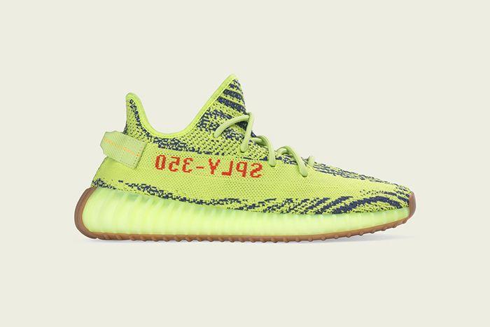 Adidas Yeezy Boost 350 V2 Zebra Semi Frozen Yellow Restock 2