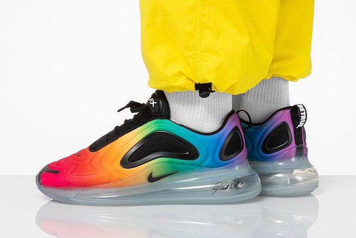 Nike Air Max 720 Be True Cj5472 900 On Foot Three Quarter Agle Shot