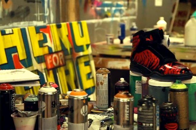 Adidas Ts Lite Amr Hotb Hebru Brantley Studio Canvas Sneaker 1