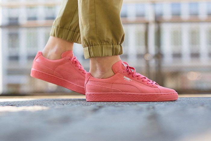 Puma Suede Pink 1