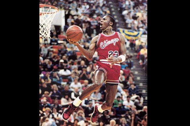 Jordan Jamming Basket 1