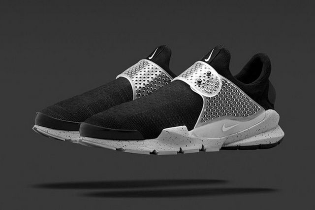 Nike Sock Dart Black Grey 3