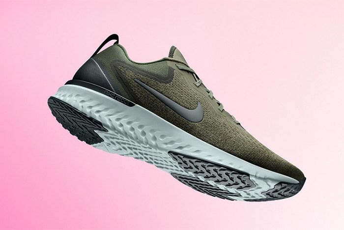 Nike Odyssey React Olive Pink 1