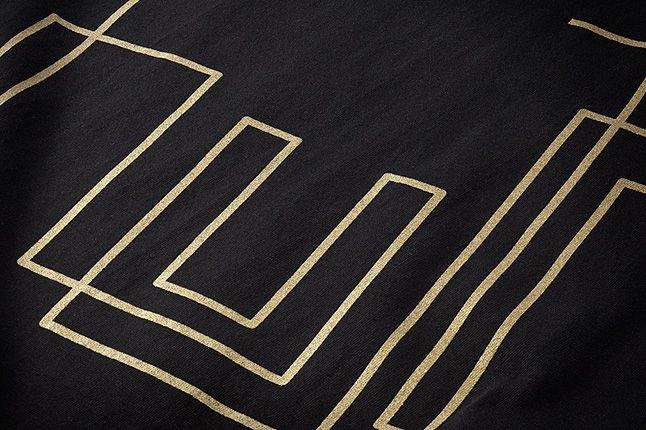 Huf Bennyg Etchasketch Logo Tee Blk Front Detail 1