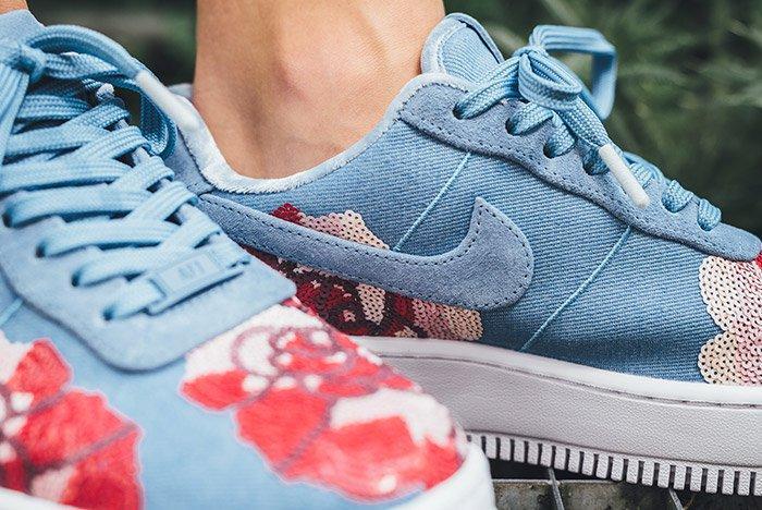 Nike Air Force 1 Upstep Floral 2