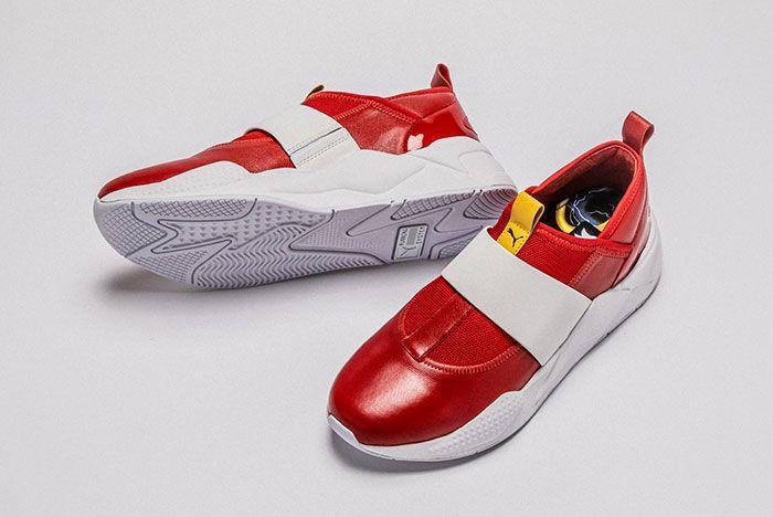 Shoe Surgeon Puma Sonic The Hedgehog Shoes Top