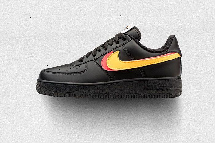 Nike Af1 Swoosh Pack Black Sneaker Freaker 1