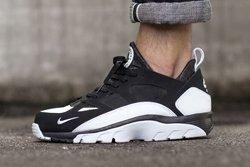 Nike Huarache Trainer Low Black White Thumb