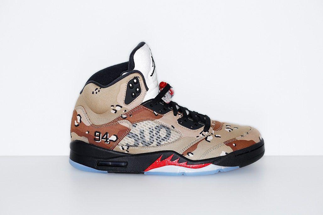 Supreme x Air Jordan 5  (2015)