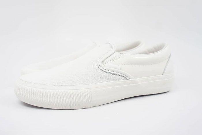 Engineered Garments Vans Vault Slip On Cow White Left Lateral