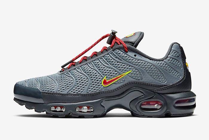Nike Air Max Plus Toggle Grey Left
