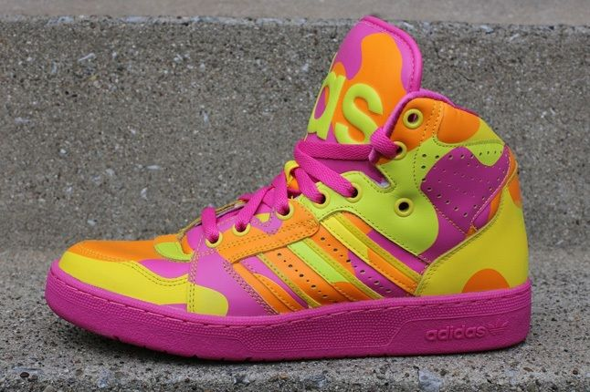 Adidas Js Instinct Hi Neon Camo 2