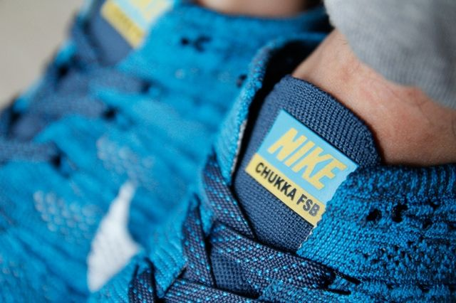 Nike Flyknit Trainer Chukka Fsb Squadron Blue 7