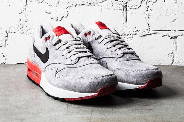 Nike Air Max 1 Premium Grey Red 2