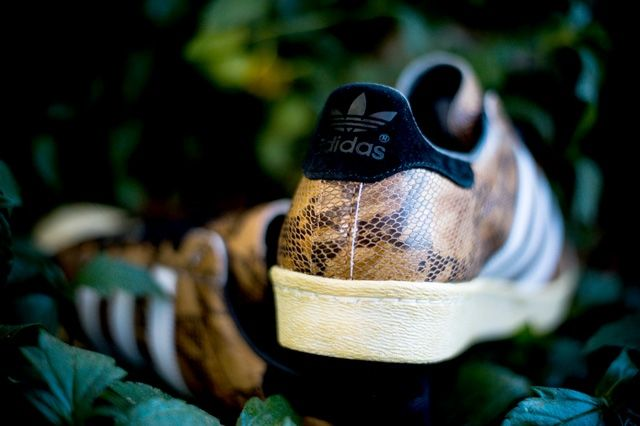 Adidas Superstar 80S Woodland Camo 5