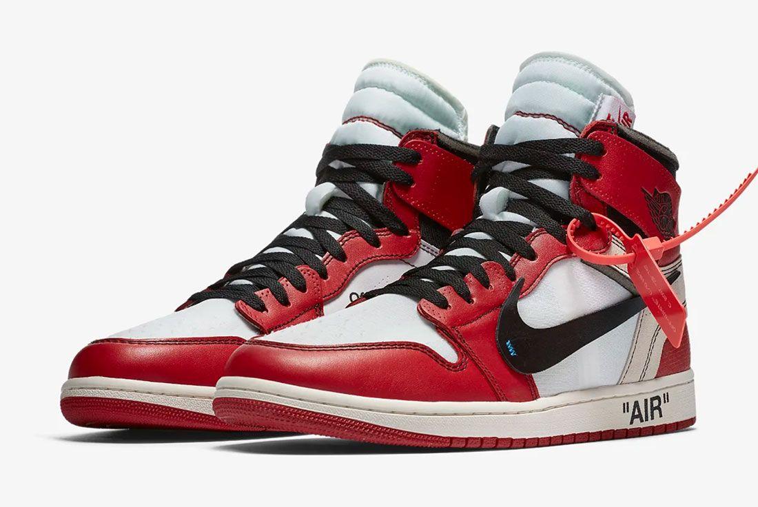 Stranger Things Sneakers Off White Air Jordan 1