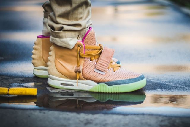 Nike Air Yeezy 2 Custom Maggi 2
