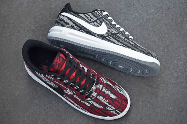 Nike Lunar Force 1 Holiday Pack Jacquard Bump 8