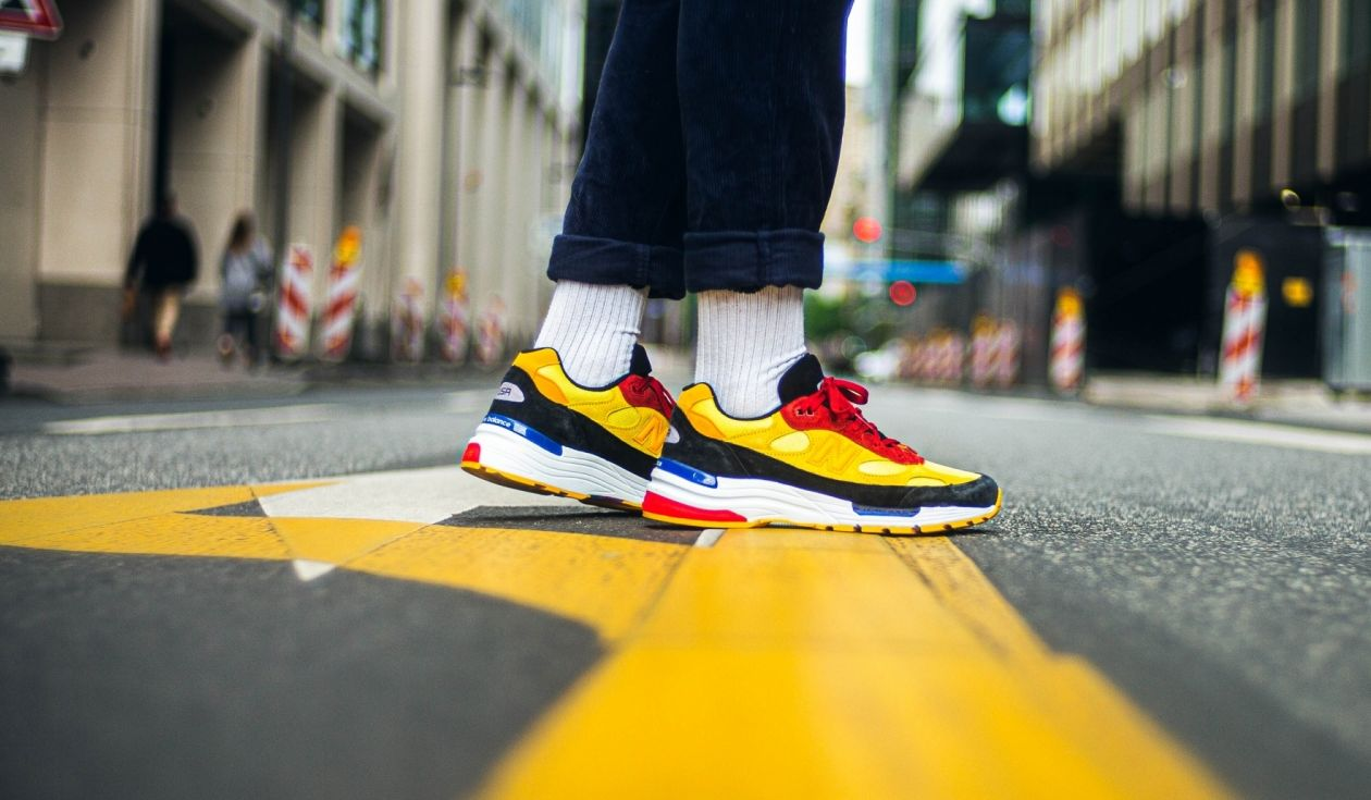 New Balance 992 Bright Yellow Right