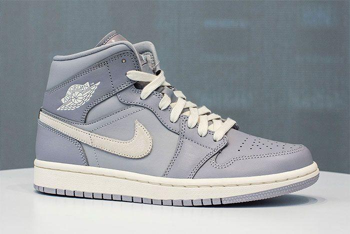 Jordan 1 Mid Full Grey 1 Side
