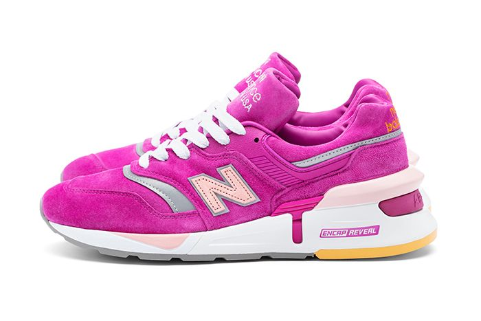 Concepts New Balance 997S Fusion Esruc Babe Ruth Bambino Pink Release Date Lateral