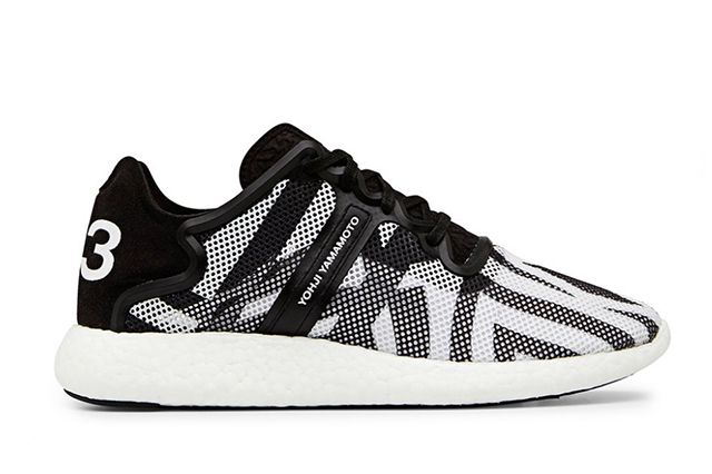 Y 3 Yohji Boost Black And White