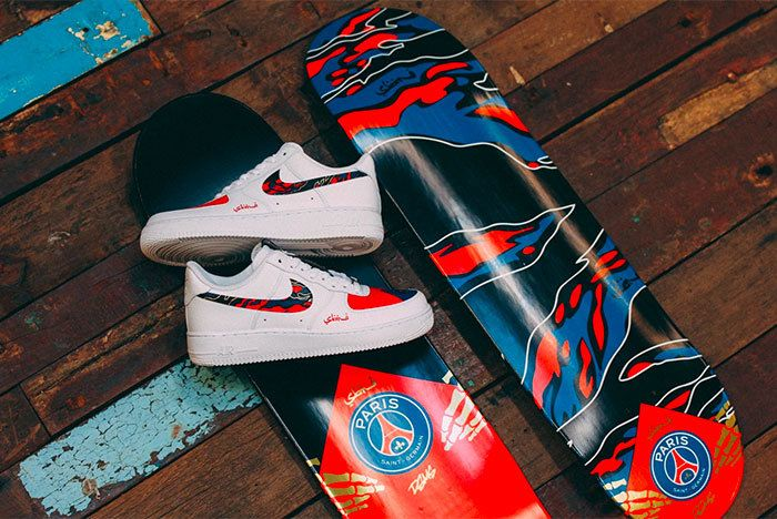 Sneaker Freaker Paris Saint Germain Fc Sabotage Collab 1