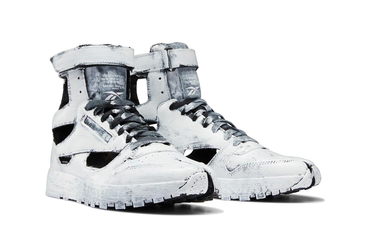 Maison Margiela x Reebok Classic Leather Tabi Bianchetto