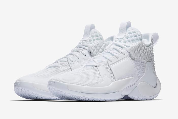 Jordan Why Not Zer0 2 All White Pair