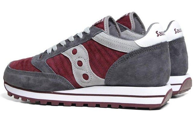 Saucony Jazz Burgundy 2