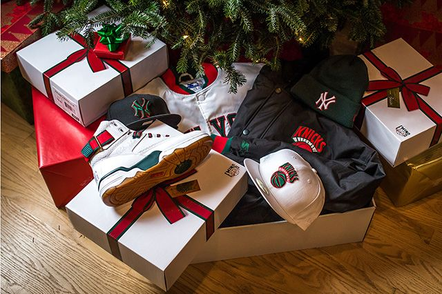 Packer Shoes X Ewing 33 Hi Christmas Collection 1