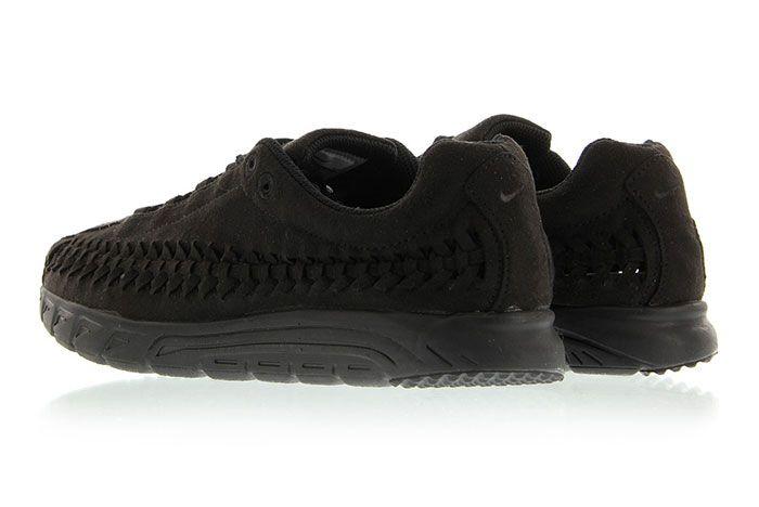 Nike Mayfly Woven Triple Black 4