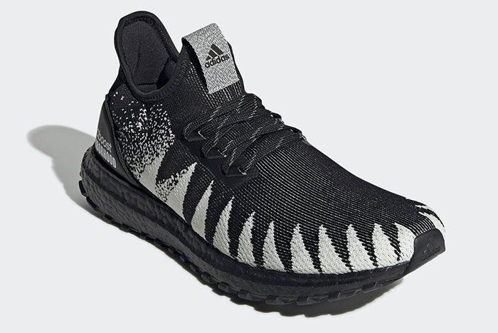 Adidas Neighborhood Ultra Boost 19 Fu7313 Front Angle