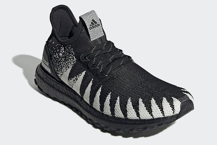 Adidas Neighborhood Ultra Boost 19 Fu7313 Front Angle