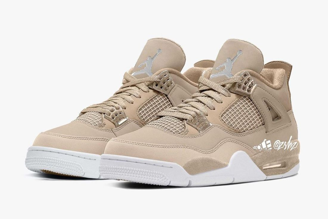 air jordan 4 shimmer mock up