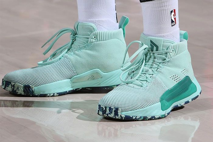 Adidas Dame 5 Left