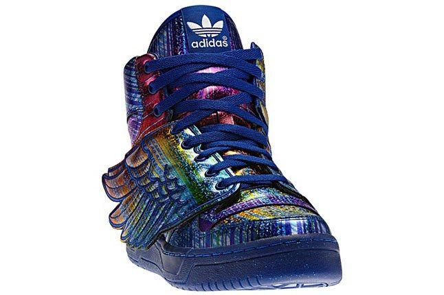 Jeremy Scott Hologram Rainbow Angle 1