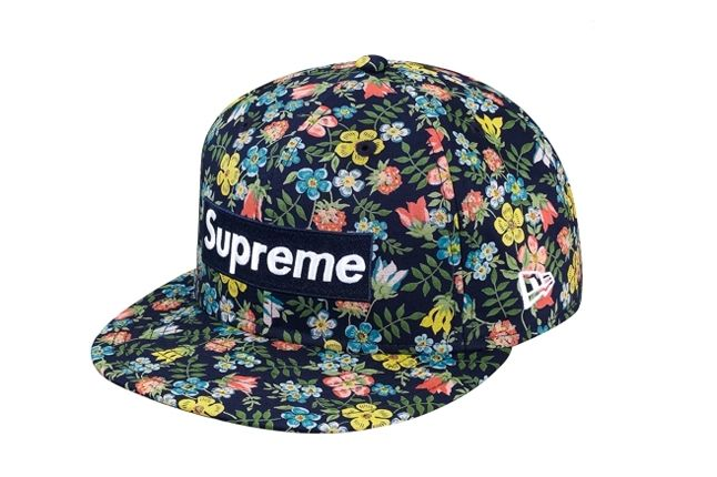 Supreme Liberty New Era 59Fifty Floral Navy 1