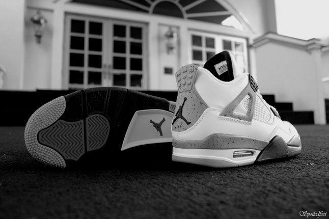 Air Jordan 4 White Cement 1