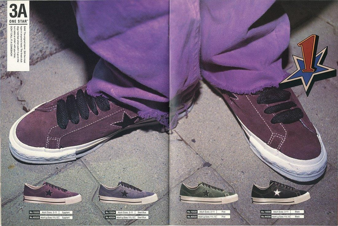 History Of Converse One Star Advertisement 3
