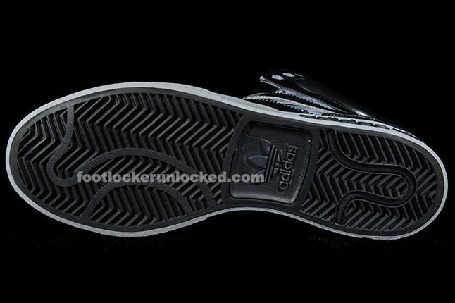 Adidas Top Court Camo Black Sole 1