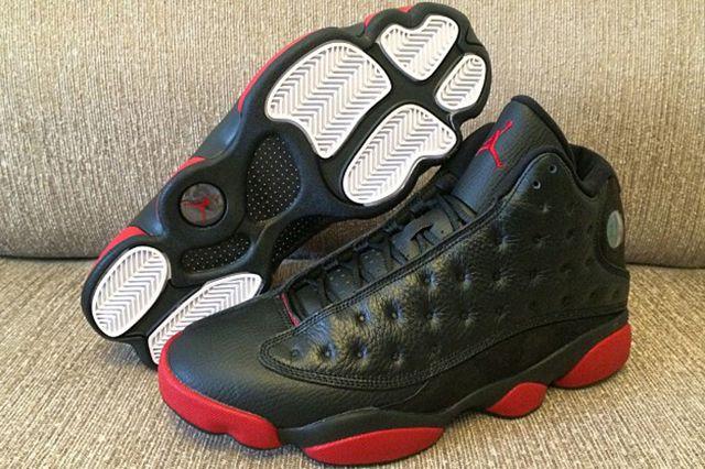 Air Jordan 13 Black Red 3