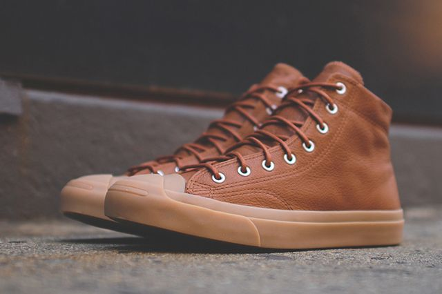 Converse Jack Purcell Jack Mid Brown2