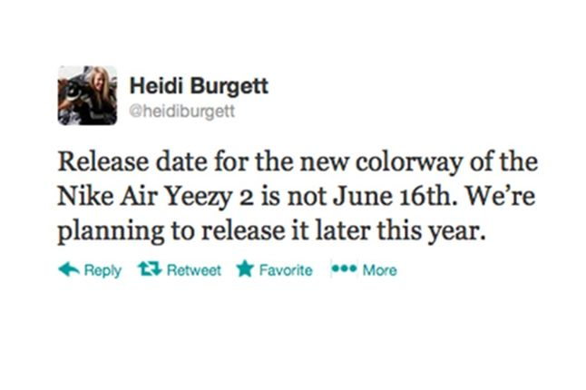 Air Yeezy 2 Red Twitter 1