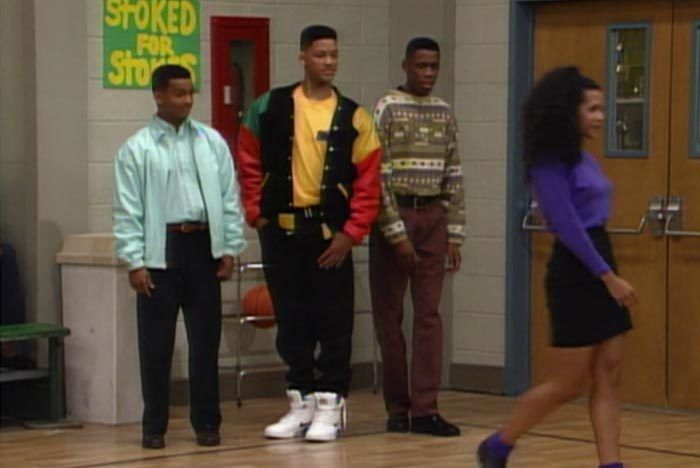 Fresh Prince Of Bel Air Nike Air Force 180 Pump High 1