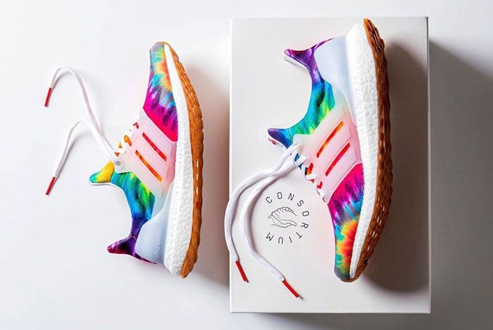Nice Kicks Adidas Ultra Boost Woodstock Tie Dye Release Date Pair