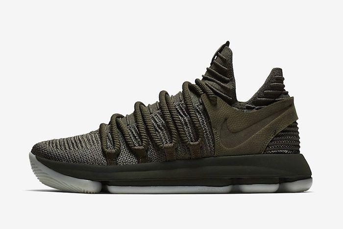 Nike Zoom Kd 10 Olive Green 6