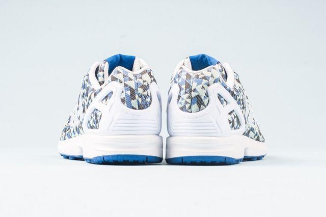 Adidas Zx Flux Weave Ocean Blue 1